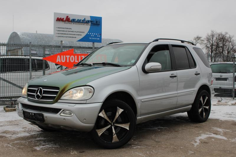 Mercedes-Benz,  ML400 , krovininis