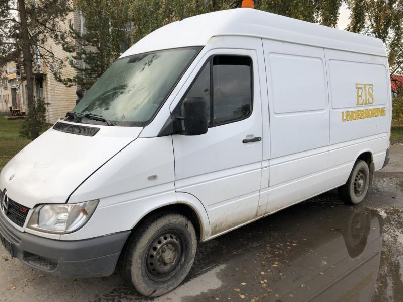 Mercedes-Benz,  Sprinter 316CDi.Motor defect., krovininis